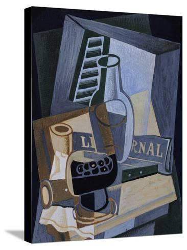Still life in Front of a Window, 1922-Juan Gris-Stretched Canvas Print