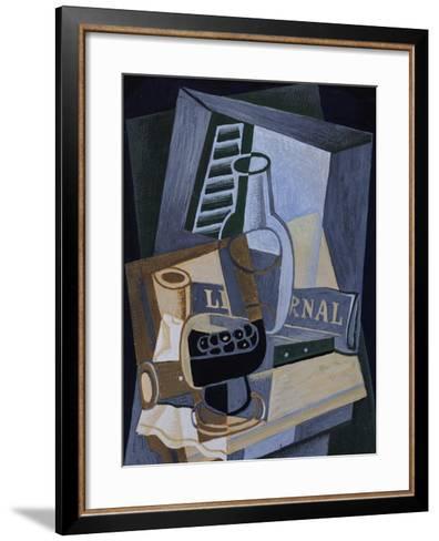Still life in Front of a Window, 1922-Juan Gris-Framed Art Print