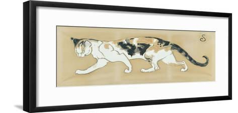 The Cat, le Chat-Th?ophile Alexandre Steinlen-Framed Art Print