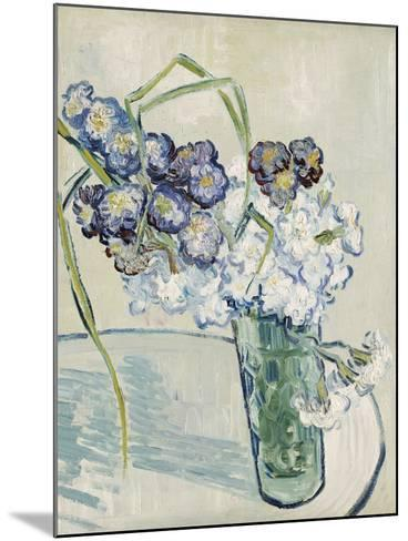 Vase of Carnations, c.1890-Vincent van Gogh-Mounted Giclee Print