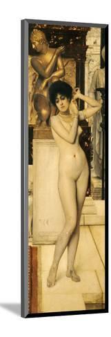 Skigge Und Eingelstudie Fur Die Allegorie Der Skulptur, 1890-Gustav Klimt-Mounted Giclee Print
