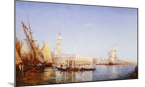 The Grand Canal, Venice-Felix Ziem-Mounted Giclee Print