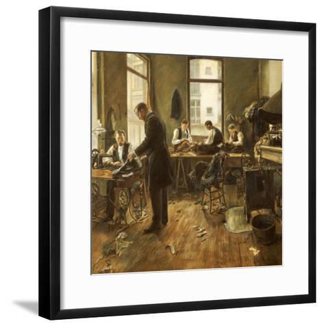 The Tailors-Leon Bartholomee-Framed Art Print