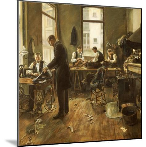 The Tailors-Leon Bartholomee-Mounted Giclee Print