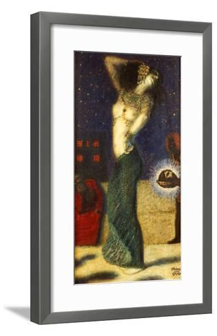 Dancing Salome-Franz von Stuck-Framed Art Print