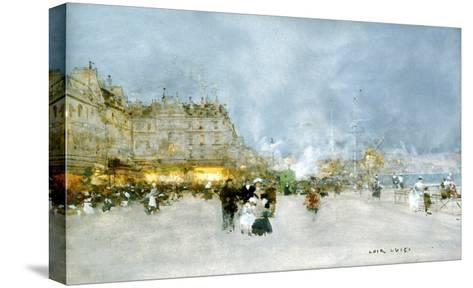 Evening Promenade-Luigi Loir-Stretched Canvas Print