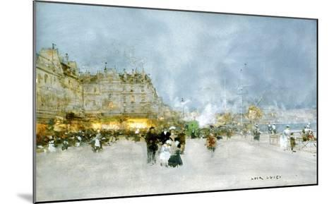 Evening Promenade-Luigi Loir-Mounted Giclee Print