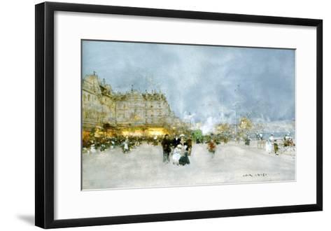 Evening Promenade-Luigi Loir-Framed Art Print