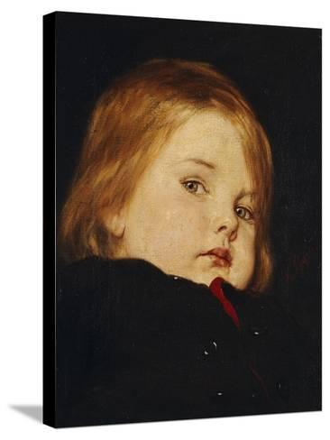 Portrait of a Child-Nicolas Gysis-Stretched Canvas Print