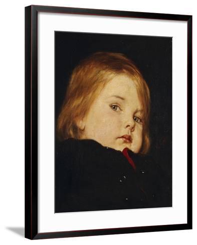Portrait of a Child-Nicolas Gysis-Framed Art Print