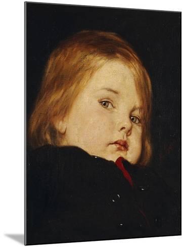 Portrait of a Child-Nicolas Gysis-Mounted Giclee Print