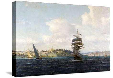 A View of Constantinople-Michael Zeno Diemer-Stretched Canvas Print