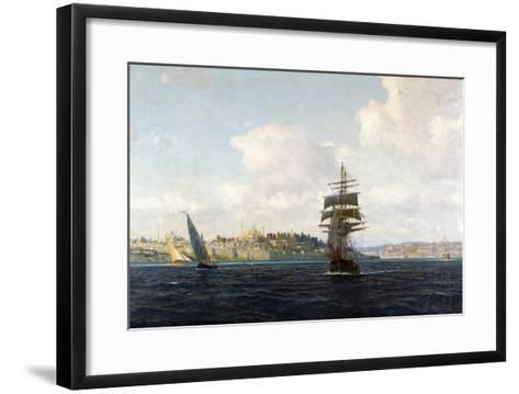 A View of Constantinople-Michael Zeno Diemer-Framed Art Print