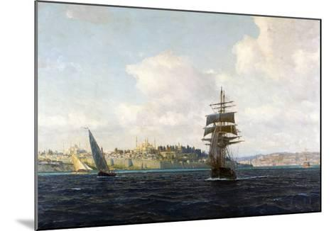 A View of Constantinople-Michael Zeno Diemer-Mounted Giclee Print