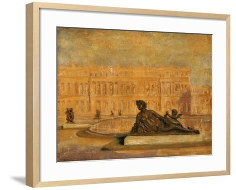 The Water Parterre at Versaille-Jean Altamura-Framed Art Print