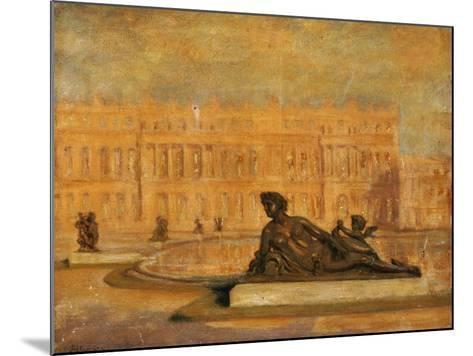 The Water Parterre at Versaille-Jean Altamura-Mounted Giclee Print