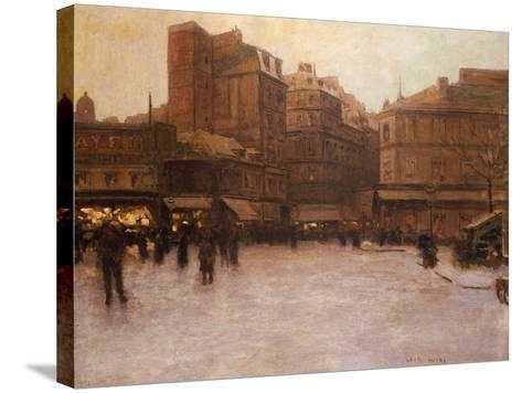 Place Du Delta-Luigi Loir-Stretched Canvas Print