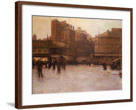Place Du Delta-Luigi Loir-Framed Art Print