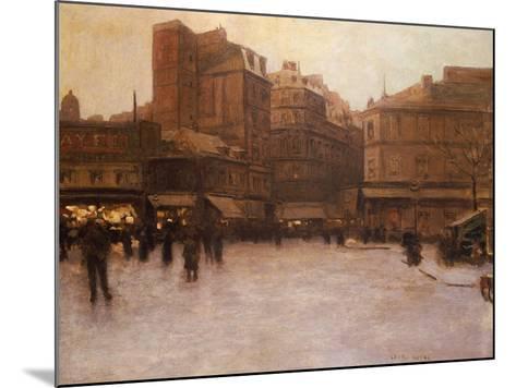 Place Du Delta-Luigi Loir-Mounted Giclee Print