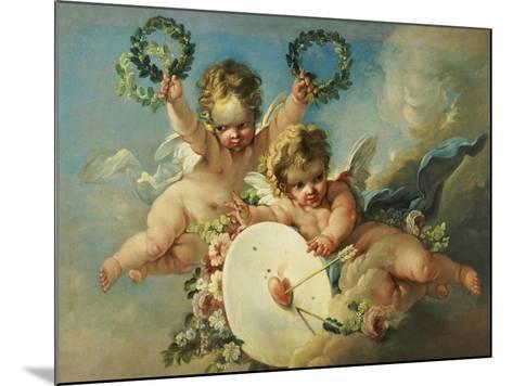 La Cible d'Amour (Love Target)-Francois Boucher-Mounted Giclee Print