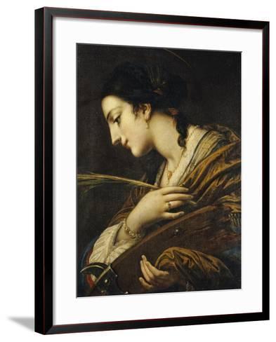 Saint Catherine of Alexandria-Il Volterrano-Framed Art Print