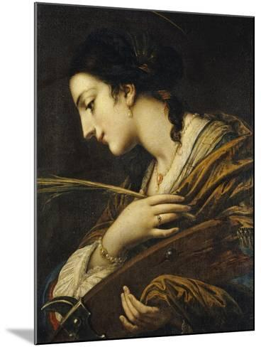 Saint Catherine of Alexandria-Il Volterrano-Mounted Giclee Print