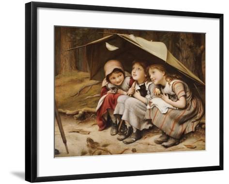 Three Little Kittens, 1883-Joseph Clark-Framed Art Print