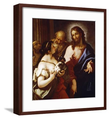 Christ and the Canaanite Woman-Sebastiano Ricci-Framed Art Print