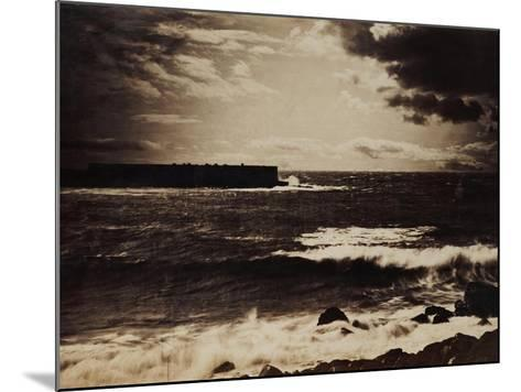 The Great Wave, Sete, 1856-9-Gustave Le Gray-Mounted Giclee Print