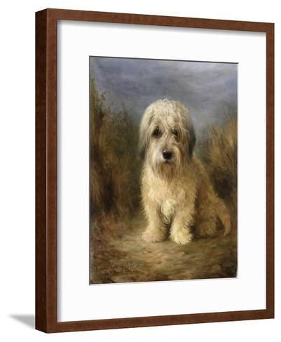 A Dandie Dinmont-Lilian Cheviot-Framed Art Print