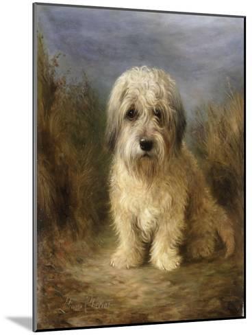 A Dandie Dinmont-Lilian Cheviot-Mounted Giclee Print