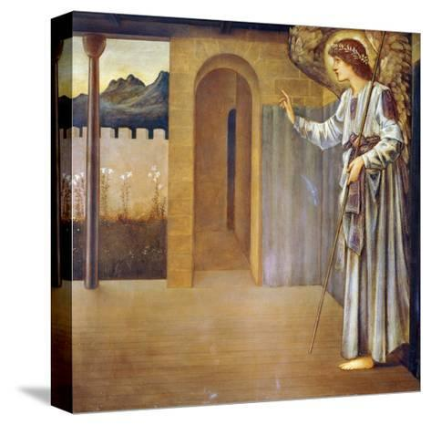 The Annunciation, Dated 1893-Edward Burne-Jones-Stretched Canvas Print