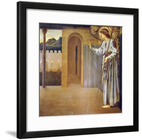 The Annunciation, Dated 1893-Edward Burne-Jones-Framed Art Print