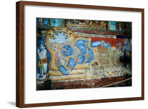 Krishna--Framed Art Print