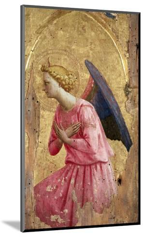 Adoration of an Angel-Fra Angelico-Mounted Giclee Print