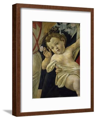 The Virgin and the Infant Surrounded by Angels-Sandro Botticelli-Framed Art Print