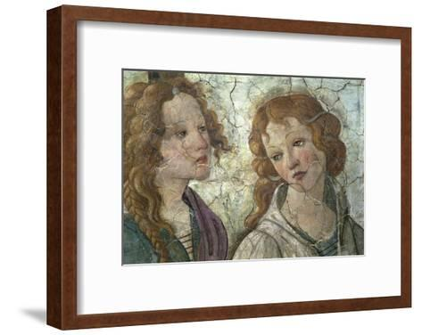 Young Woman Receives Gifts from Venus-Sandro Botticelli-Framed Art Print
