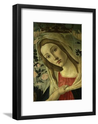 The Virgin and Child Surrounded by Angels-Sandro Botticelli-Framed Art Print