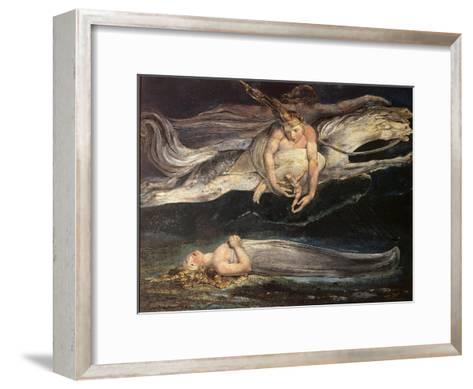 Divine Comedy: Pity-William Blake-Framed Art Print
