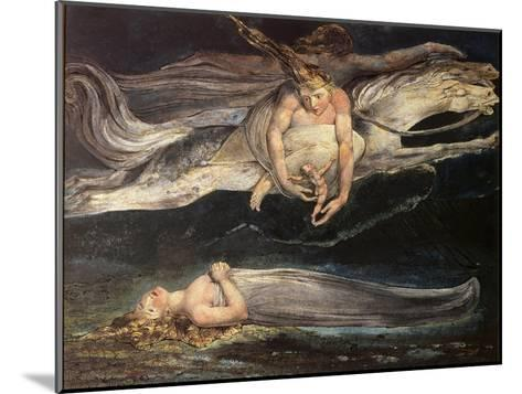 Divine Comedy: Pity-William Blake-Mounted Giclee Print