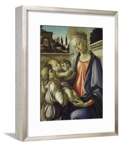 Madonna and Child-Sandro Botticelli-Framed Art Print
