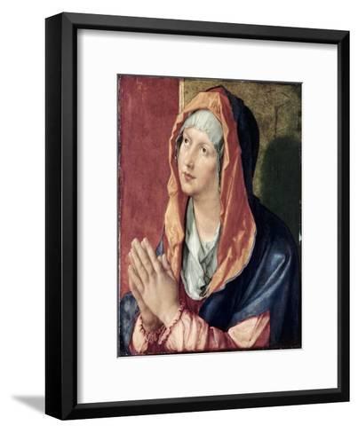The Virgin Praying-Albrecht D?rer-Framed Art Print