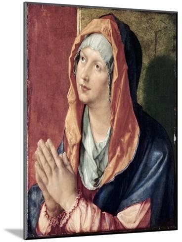 The Virgin Praying-Albrecht D?rer-Mounted Giclee Print