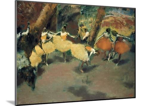 Before the Performance-Edgar Degas-Mounted Giclee Print