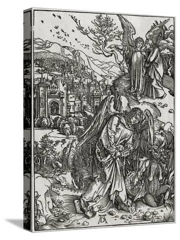 The New Jerusalem and the Bottomless Pit-Albrecht D?rer-Stretched Canvas Print