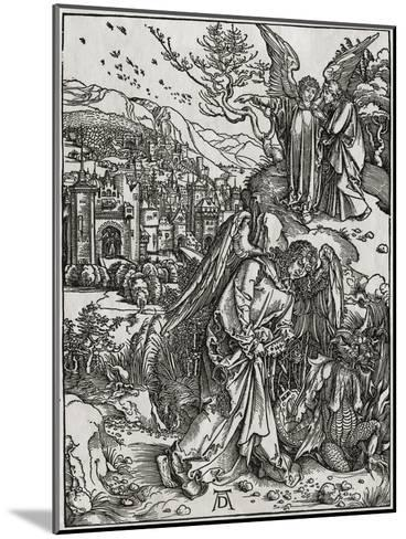 The New Jerusalem and the Bottomless Pit-Albrecht D?rer-Mounted Giclee Print
