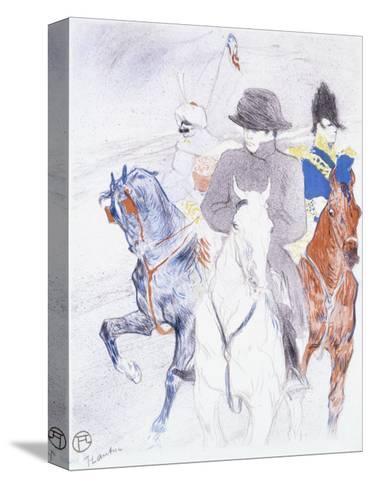 Napoleon-Henri de Toulouse-Lautrec-Stretched Canvas Print