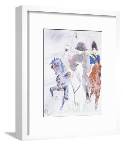 Napoleon-Henri de Toulouse-Lautrec-Framed Art Print