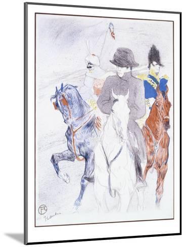 Napoleon-Henri de Toulouse-Lautrec-Mounted Giclee Print