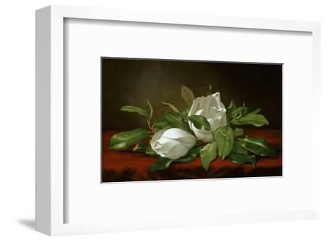 Magnolia-Martin Johnson Heade-Framed Art Print